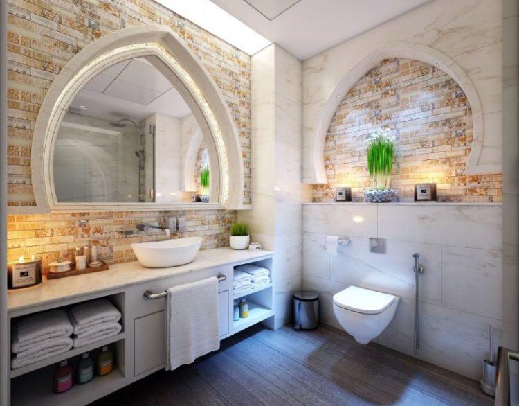 revetement panneau mural salle de bains
