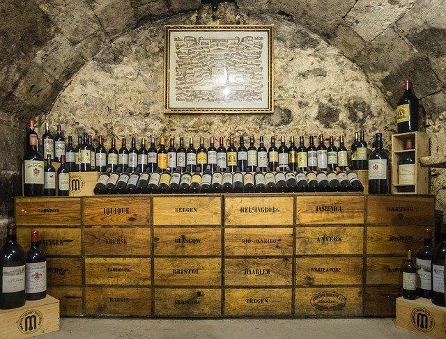 Cave à vin personnelle plus value immobilier